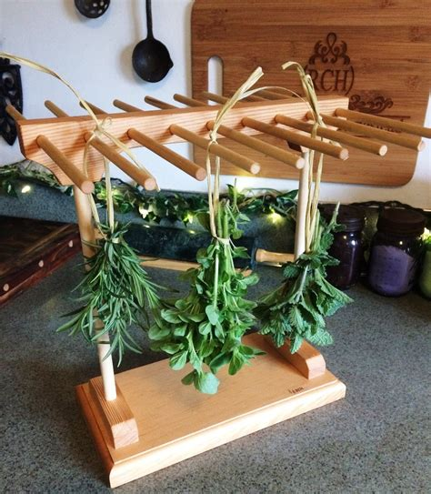 Diy Drying Rack For Herbs